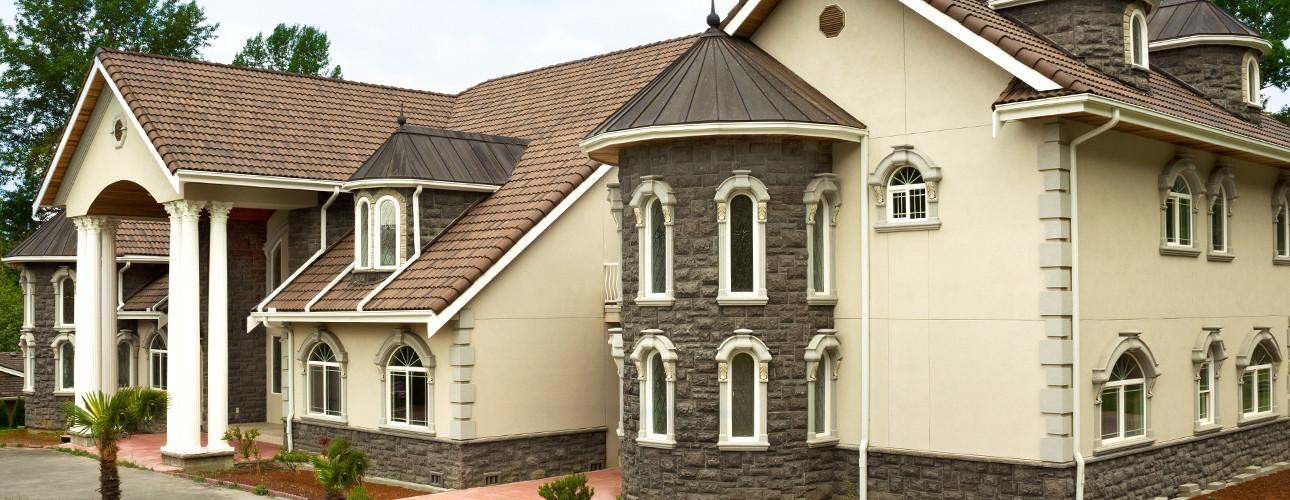 large home built for development